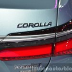 Toyota Corolla Hybrid taillamp at Auto Shanghai 2015