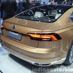 VW C Coupe GTE Concept boot at the Auto Shanghai 2015
