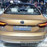 VW C Coupe GTE Concept rear at the Auto Shanghai 2015