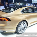 VW C Coupe GTE Concept rear three quarter at the Auto Shanghai 2015