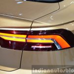 VW C Coupe GTE Concept taillamp at the Auto Shanghai 2015