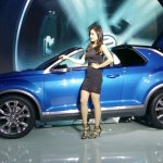 VW T-ROC side at the 2015 Seoul Motor Show