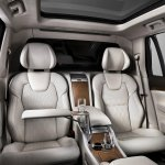 Volvo XC90 Excellence seat press shots