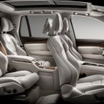 Volvo XC90 Excellence seats press shots