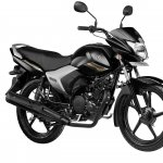 Yamaha Saluto Black front quarter press shots