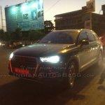 2015 Audi Q7 front Gujarat spied