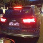 2015 Audi Q7 rear Gujarat spied