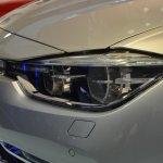2015 BMW 3 Series facelift LED headlight live