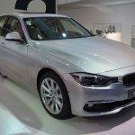 2015 BMW 3 Series facelift front quarter live