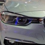 2015 BMW 3 Series facelift headlight live
