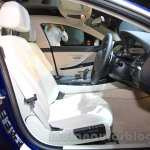 2015 BMW 6 Series Gran Coupe facelift front seat