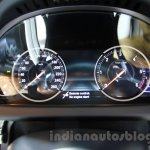 2015 BMW 6 Series Gran Coupe facelift instrument cluster
