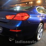2015 BMW 6 Series Gran Coupe facelift rear end