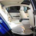 2015 BMW 6 Series Gran Coupe facelift rear seat
