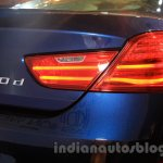 2015 BMW 6 Series Gran Coupe facelift taillights