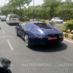 2015 DC Avanti rear three quarter spotted in Delhi