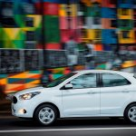 2015 Ford Figo hatchback for South Africa side view press image
