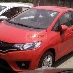 2015 Honda Jazz CVT front quarter spied at dealership