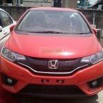 2015 Honda Jazz CVT front spied at dealership