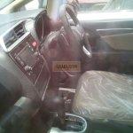 2015 Honda Jazz CVT interior spied at dealership