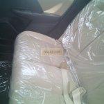 2015 Honda Jazz CVT rear seat spied at dealership