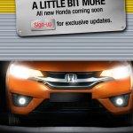 2015 Honda Jazz chrome grille India