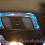 2015 Mahindra XUV500 facelift W10 Icy Blue lighting