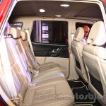 2015 Mahindra XUV500 facelift W10 rear seats