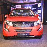 2015 Mahindra XUV500 facelift front live