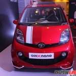 2015 Tata GenX Nano front (1) with sporty accessories and sunroof