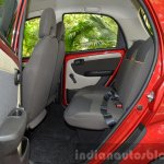 2015 Tata Nano GenX AMT rear seat space