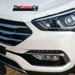2016 Hyundai Santa Fe front end spotted up close