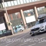 2016 Mercedes C Class Coupe front quarter spied