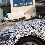 2016 Mercedes C Class Coupe spied