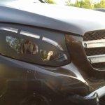 2016 Mercedes GLC headlamps spied up close