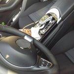 2016 Mercedes GLC interior spied up close