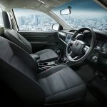 2016 Toyota Hilux Revo dashboard press shots