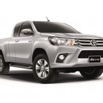 2016 Toyota Hilux Revo front end press shots