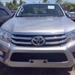 2016 Toyota Hilux Revo front revealed