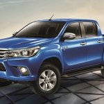 2016 Toyota Hilux Revo front three quarter press shots
