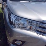 2016 Toyota Hilux Revo headlight revealed