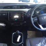 2016 Toyota Hilux Revo top-end interior spotted before launch