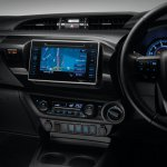 2016 Toyota Hilux Revo touchscreen system press shots