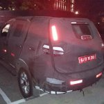 Chevrolet Trailblazer rear quarter India spied