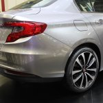 Fiat Aegea boot at the 2015 Istanbul Motor Show