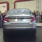 Fiat Aegea rear at the Istanbul Motor Show 2015