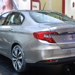 Fiat Aegea rear quarter at the 2015 Istanbul Motor Show