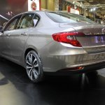 Fiat Aegea rear quarters at the 2015 Istanbul Motor Show