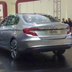 Fiat Aegea rear three quarter at the Istanbul Motor Show 2015