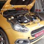 Fiat Punto Evo T-JET spied India